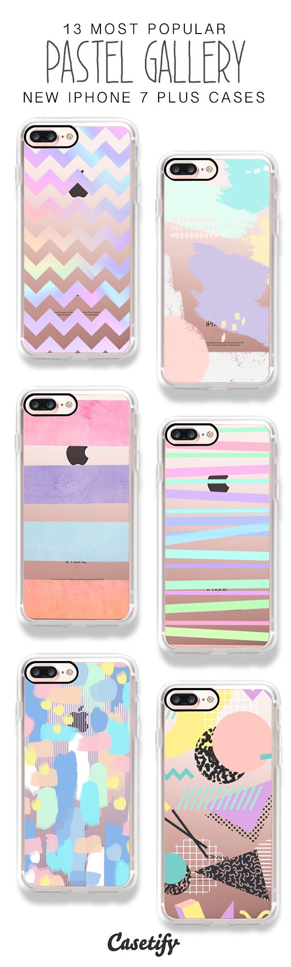 Getting Lost in the Pastel Gallery! 13 Most Popular iPhone 7 / iPhone 7 Plus Phone Cases here > https://www.casetify.com/artworks/nwJZxEA8HP
