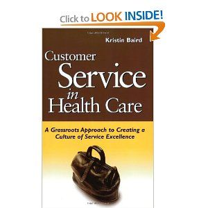 """""""Combines the inspiration of 'why to focus' on customer services with the real-life 'how-tos'. An excellent road map for health care leaders that provides direction and milestones in the journey toward a great customer service!"""""""