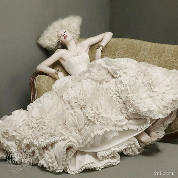 St. Pucchi Couture Wedding Dresses 2012