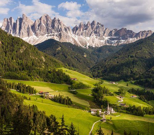 Val Di Funes, Italy: Beautiful Natural, Di Fune, Favorite Places, Travel Photo, Mountain Village, Alto Adig, Beautiful Places, Val Di, Santa Maddalena