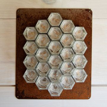DIY Hex Rustic Wall Spice Set LG now featured on Fab.