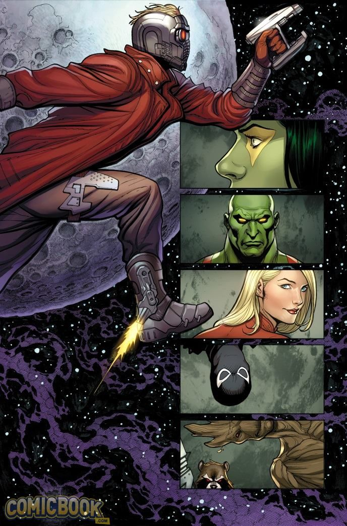 Guardians of the Galaxy Annual #1 by Frank Cho *