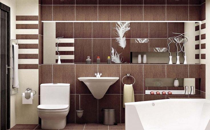 Дизайн совмещенной ванной комнаты с множеством аксессуаров #дизайн_ванной_комнаты #аксессуары_для_ванной_комнаты #совмещенная_ванная_комната #дизайн_совмещенной_ванной_комнаты
