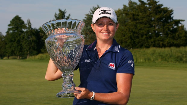 Congratulations, Stacy, on your win at the Shop Rite Classic at Seaview in Galloway Township, NJ!
