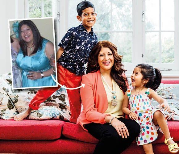 Weight Watchers member Seema   diet   Weight loss success
