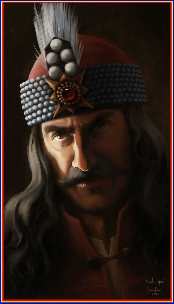 An idea of what Vlad may have looked like.