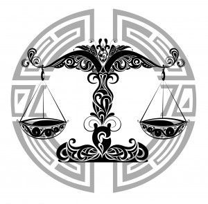 Libra Sign Tattoo  by Andrew Jack