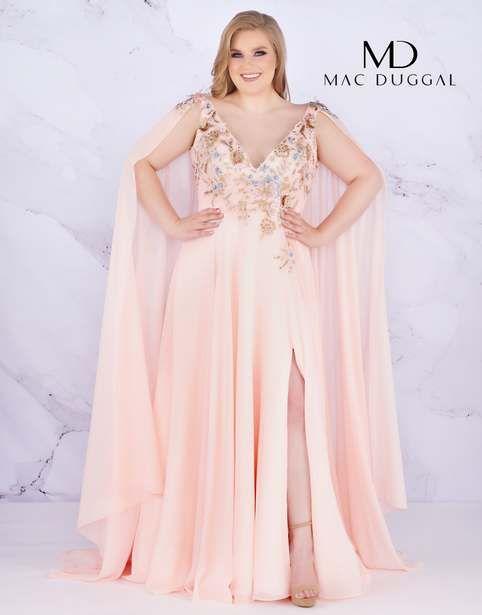 ac5c2e64f86710e Новогодняя коллекция вечерних платьев для полных девушек и женщин  американского бренда Mac Duggal 2019