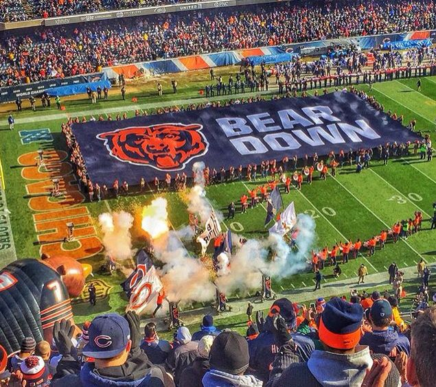 """BEAR DOWN"" CHICAGO BEARS - Opening Day, Soldier Field, September 19, 2016"