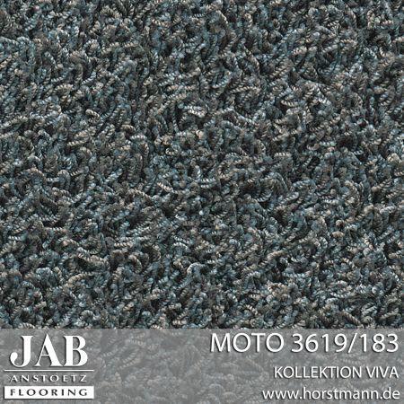 Jab Teppich MOTO 3619/183 - teppe til lounge. Bestilles på mål gjennom f.eks Senab Eikeland i Tønsberg. Veldig god pris på teppet og kan kjøpes på mål.