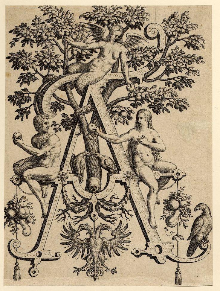 Братья de Bry. 16 век. Алфавит и гравюры. - Интересное и забытое - быт и курьезы прошлых эпох.