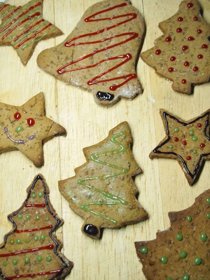 Compassionate Cooking: Vegan Gingerbread Christmas Cookies