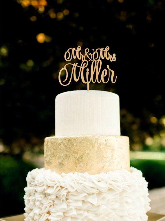 Hey, diesen tollen Etsy-Artikel fand ich bei https://www.etsy.com/de/listing/292398625/wedding-cake-topper-herr-frau-nachname