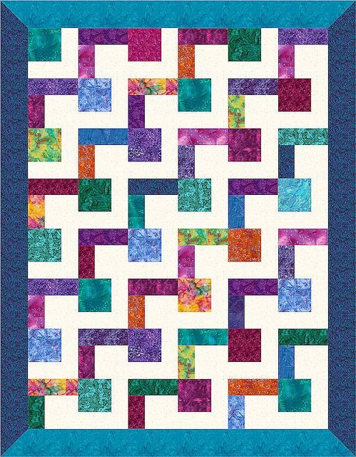 190 best Quilting - Easy Quilts for Gifts images on Pinterest ... : how to make easy quilt - Adamdwight.com