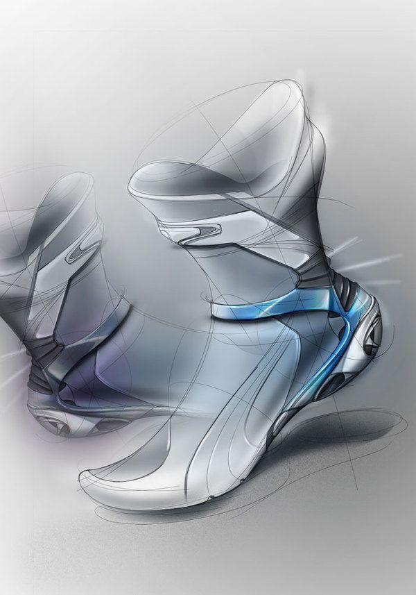 Quick sketch by Adrien noirhomme, via Behance