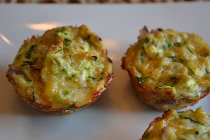 GOOD FOOD: 3 Cheese Zucchini Bites