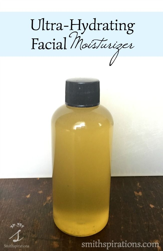 """Treat your face to some serious pampering with this ultra-hydrating homemade facial moisturizer. Special oils, shea butter, and essential oils nourish our most important skin."""