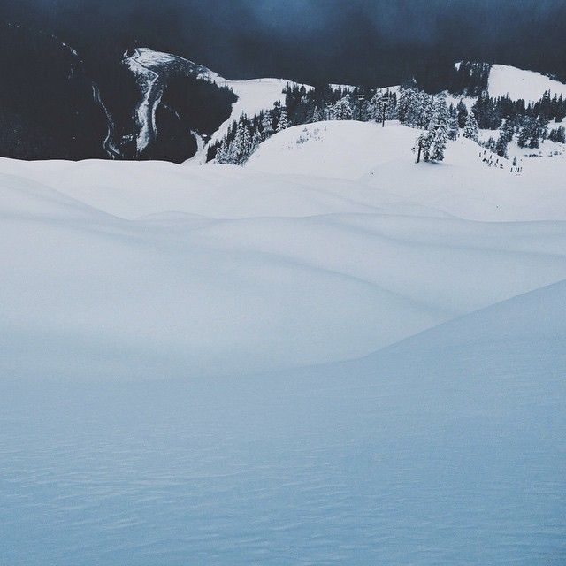 Land of pillowy pow ❄️with the @burtonwesterncanada crew // #chooseyourownadventure #boardin #winter #mtbaker #ridingisthereason