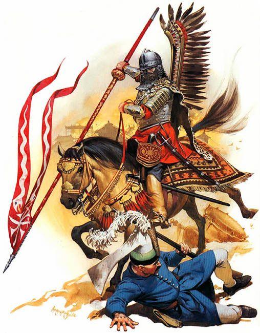 Polish Hussar 'Comrade', 1672-83 by Angus McBride