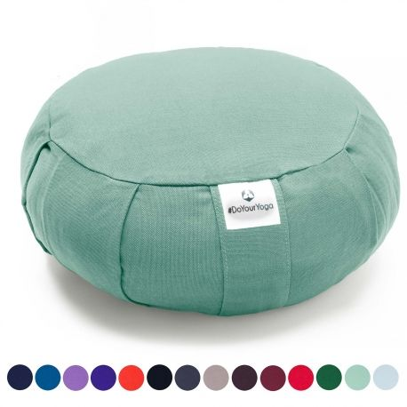 Hochwertigee Marken-Yogakissen aus strapazierfähigem Material, erstklassig verarbeitet in ansprechenden Farben.