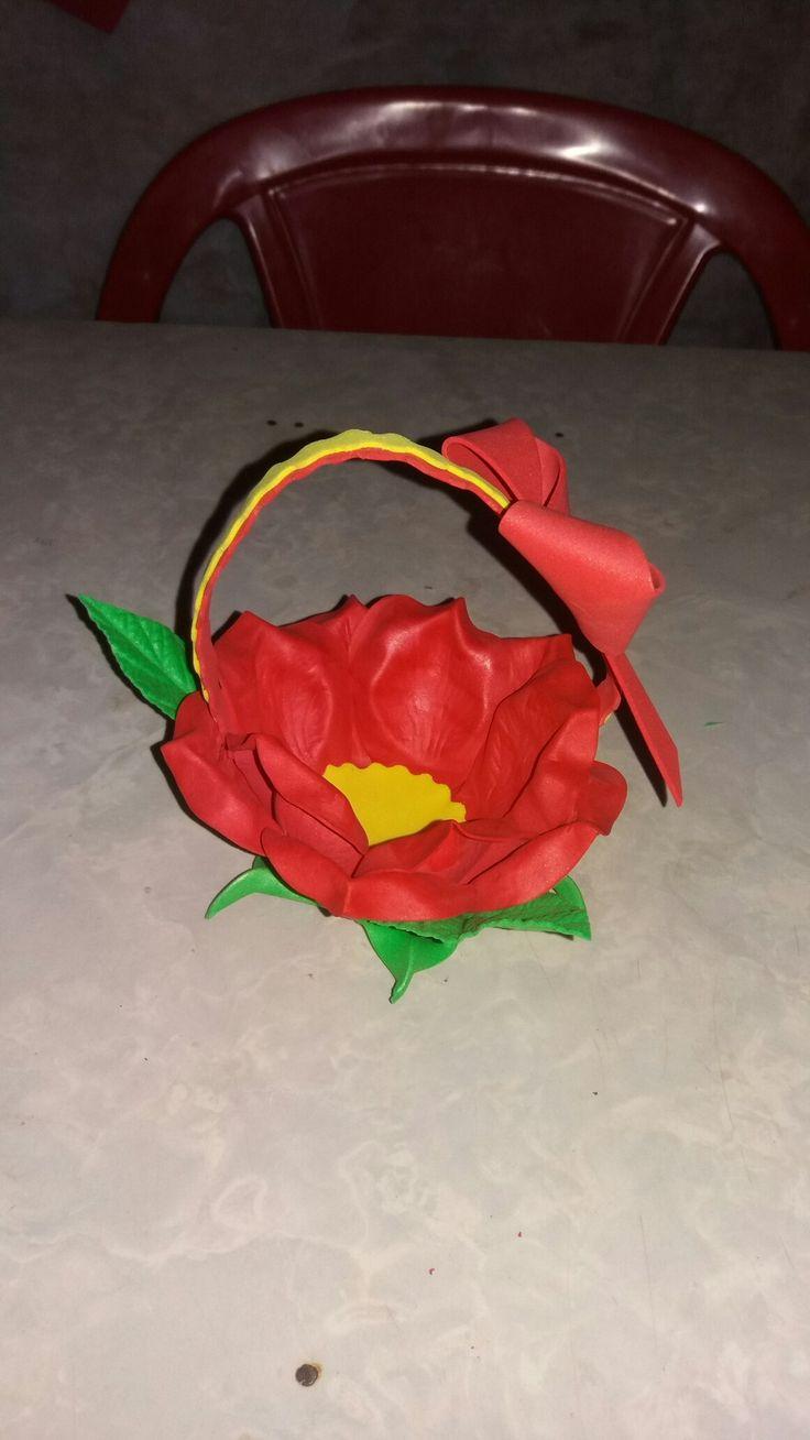 Cestinha de  flor