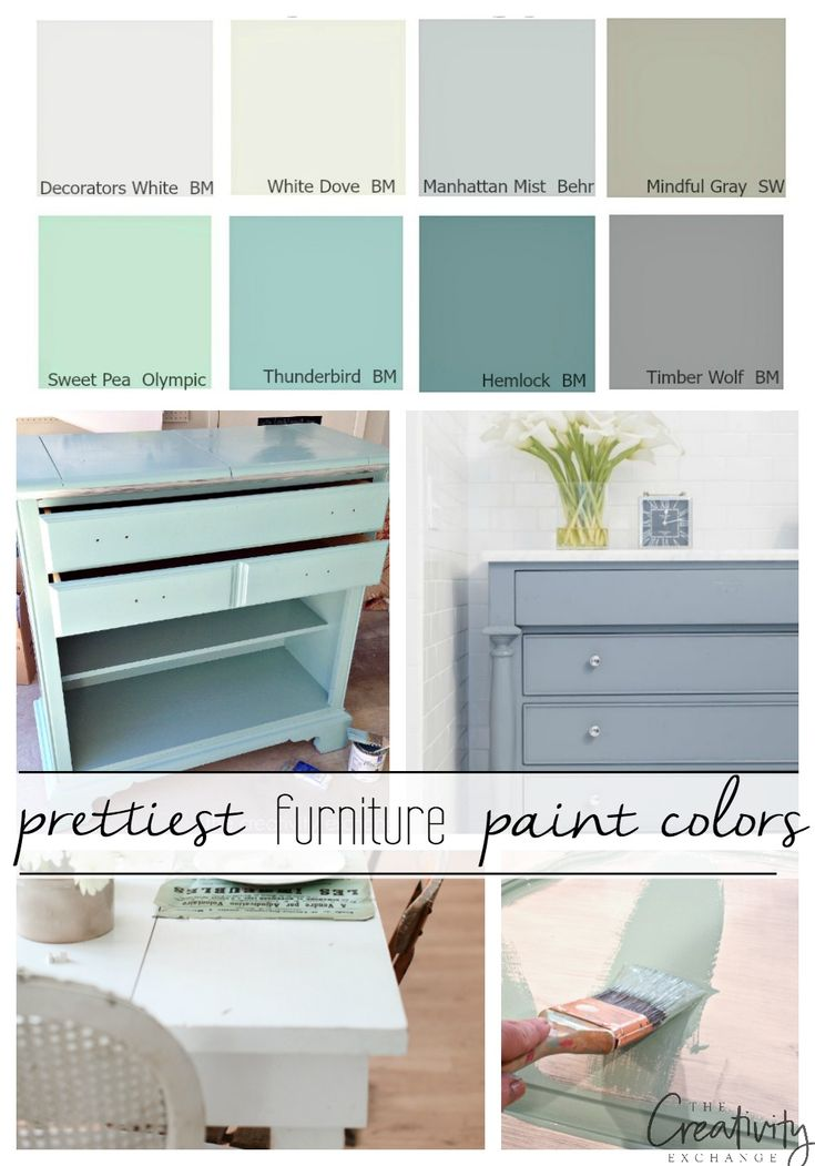 16 Of The Best Paint Colors For Painting Furniture Pretty Furniture Painted Furniture Colors Painted Bedroom Furniture
