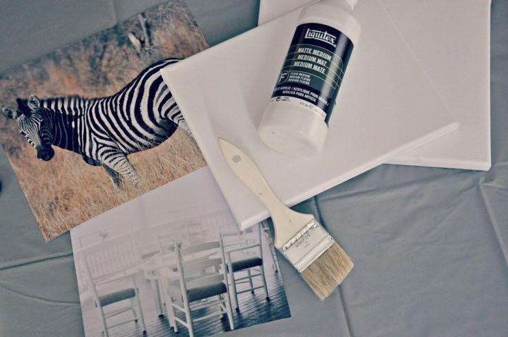 canvas photo transfer materials