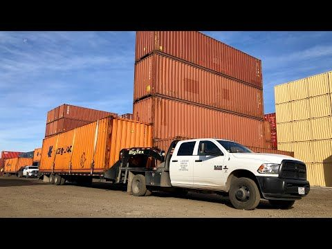 Hot Shot Trucking moving containers is it worth it