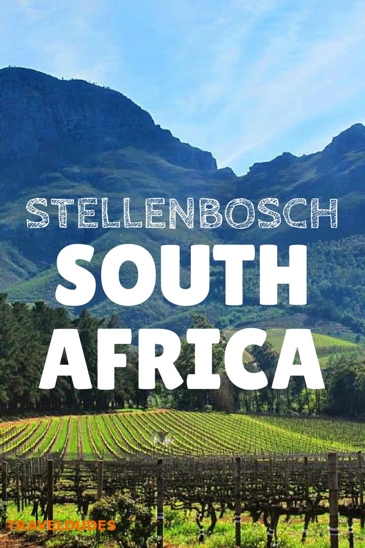 Stellenbosch: Awesome Scenery with Delicious Food and Wine - This region of the world really got me hooked for many reasons and I really have to watch out that I still head back home after this trip. Why? I was told that when you visit South Africa for the third time, you will stay there forever!