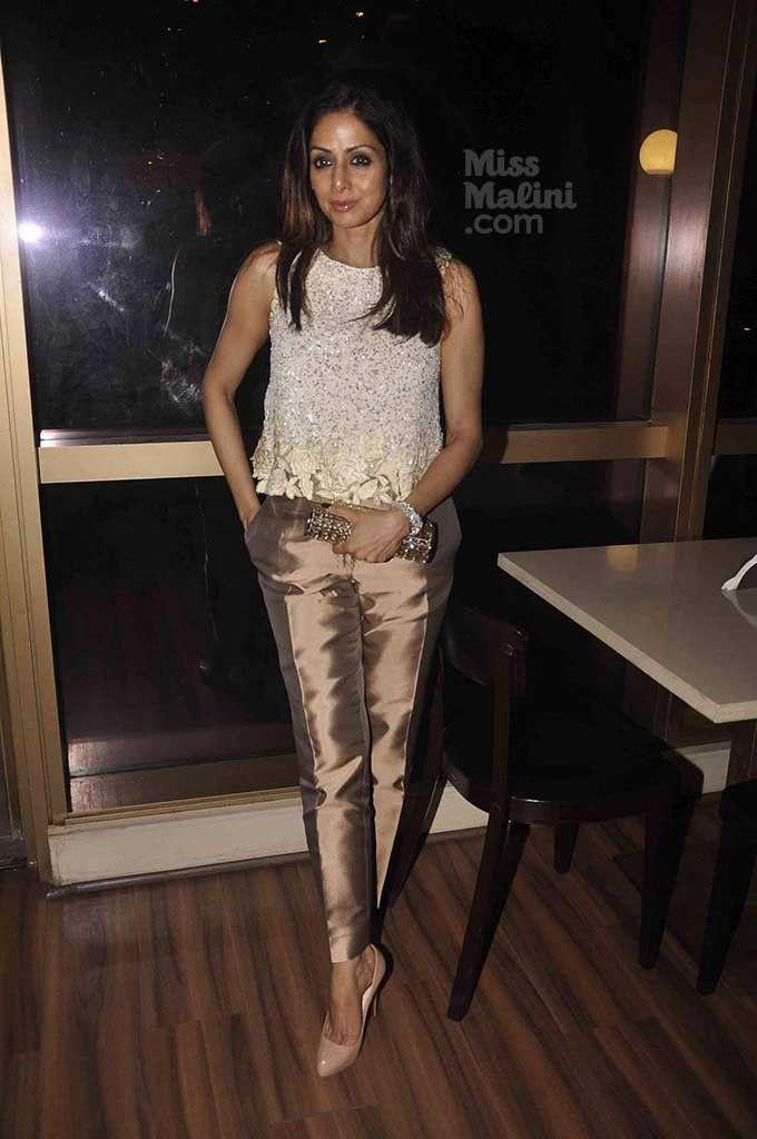 Sridevi And This Manish Malhotra Outfit Are Like A Match Made In Heaven! - MissMalini