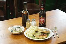 Pie and mash is a London traditional working class food along with jellied eels, it originated in south and East London during the 19th Century.