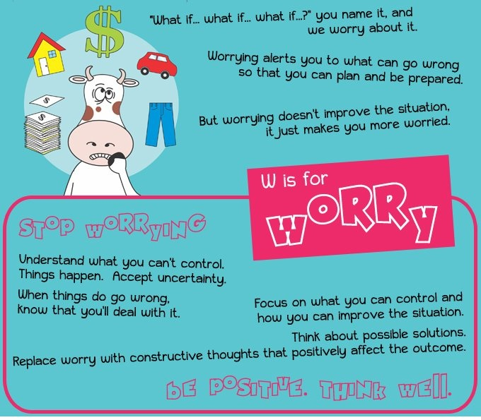 how to stop worrying about something you can t change
