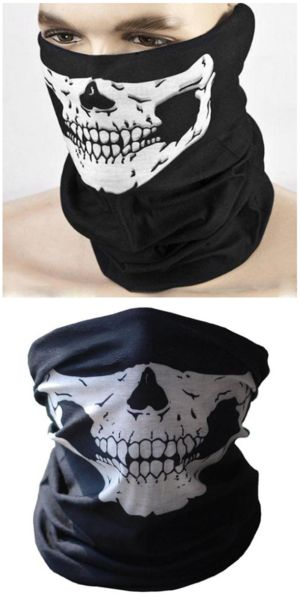 Scary Skull Biker Mask For Sale - Free Worldwide Shipping