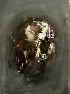 """Saatchi Online Artist Masri Hayssam; Painting, """"Anatomy 33"""" #art"""