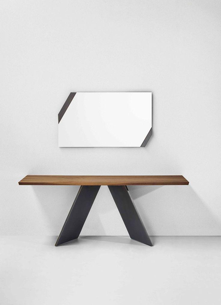 Rechteckiger Konsolentisch Aus Holz AX | Konsolentisch Aus Holz   Bonaldo