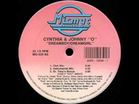 Cynthia and Johnny O - Dreamboy/Dreamgirl....this is me and my husband's song going back 24 years ago!!!!!