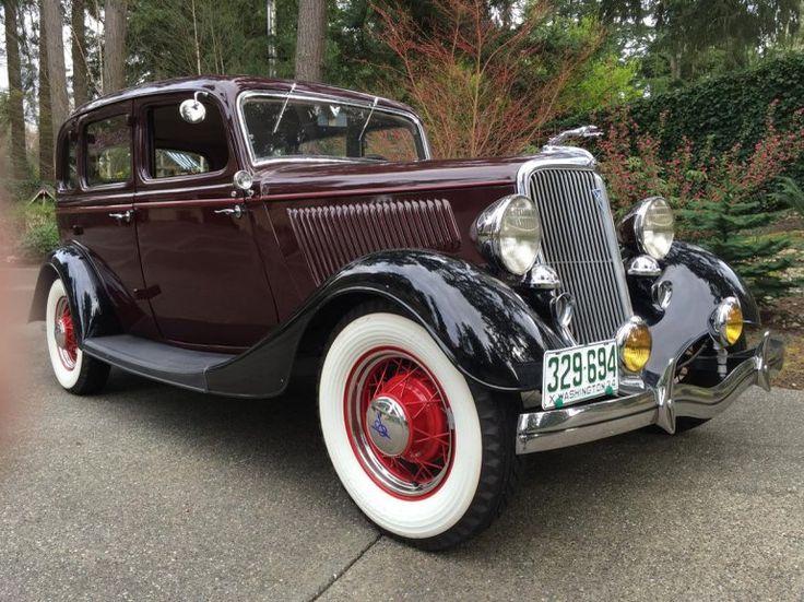 1934 Ford Model 40 Fordor Sedan Deluxe & 25 best 1934 Ford images on Pinterest | Vintage cars Antique cars ... markmcfarlin.com