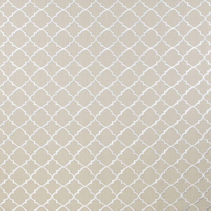 Warwick Fabrics : KANDA, Colour OATMEAL