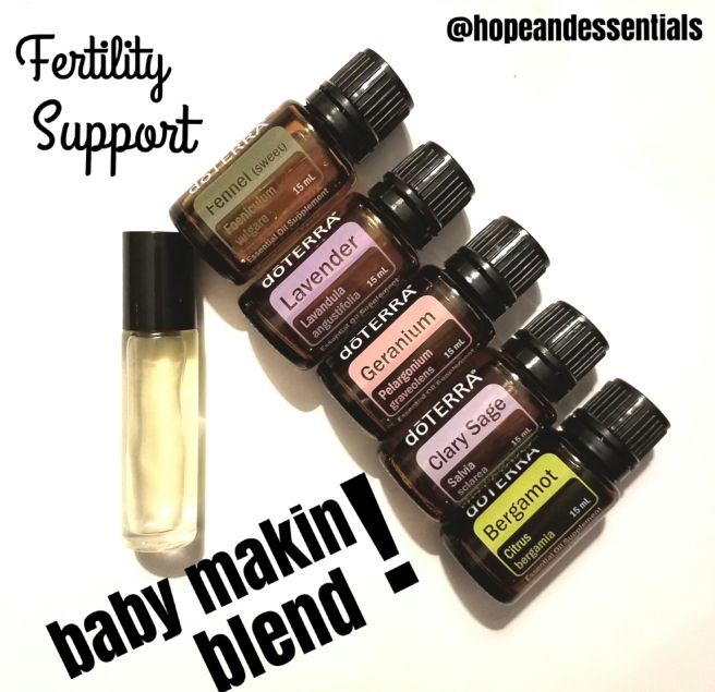 Fertility Support Essential Oil Blend Essential Oils