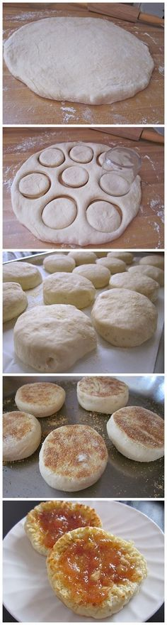 English Muffins Super faciles à faire et très bons!