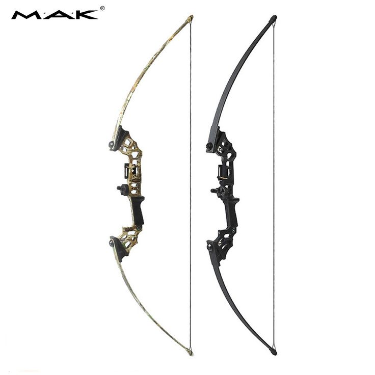 40 Lbs Straight Pull Bow Black/Camouflage for Right Handed for Compound Bow Archery Hunting Shooting Game Outdoor Sports #Affiliate