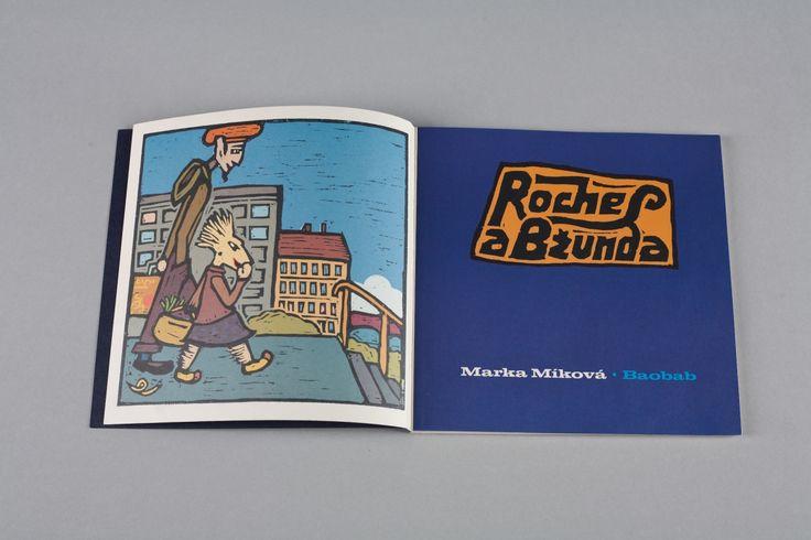 Roches a Bžunda | české ilustrované knihy pro děti | Baobab Books