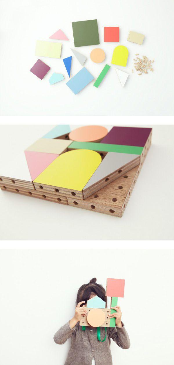 Wooden Blocks by Torafu architects