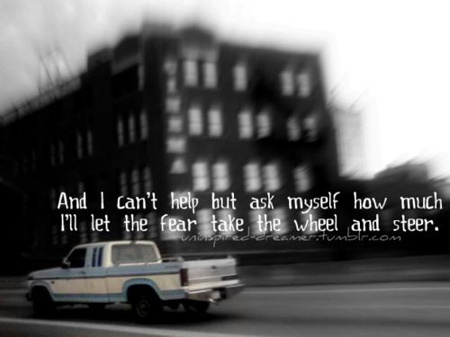 Incubus - Drive. I always like this line!