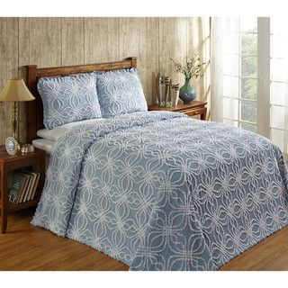 Rosa Cotton Chenille Bedspread by Better Trends | Overstock.com Shopping - The Best Deals on Bedspreads