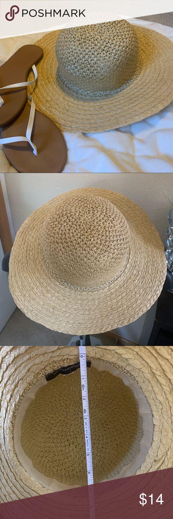 MODA International Sun Hat Beach Hat ☀️ Cute Sun Hat. Still in very good sha… – My Posh Picks