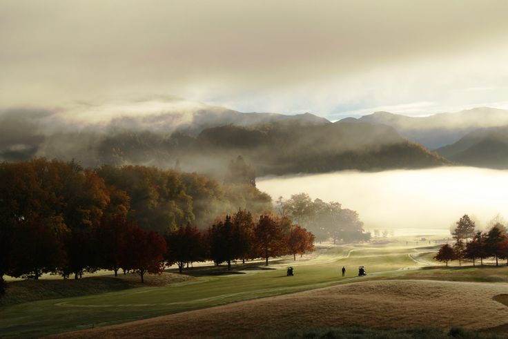 Mystic golf course  morning #millbrook #mystic