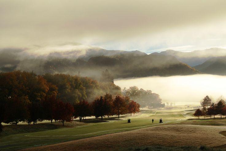 Mystic golf course  morning #millbrook #mystic