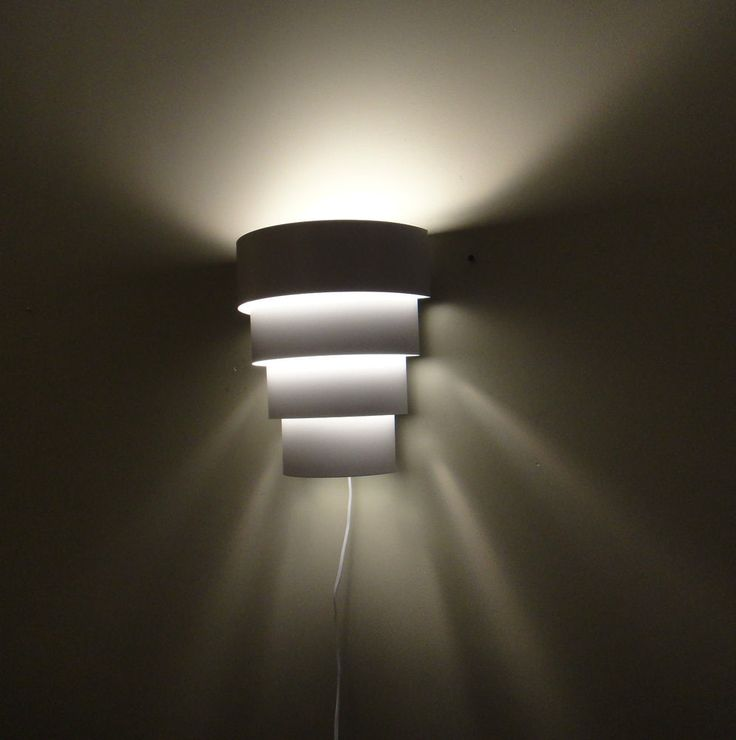 Wall Sconces Plug In Lighting : Best 25+ Plug in wall lights ideas on Pinterest