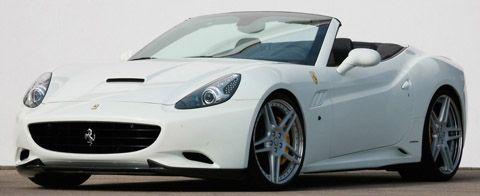 Putih Novitec Rosso Ferrari California Supercharged